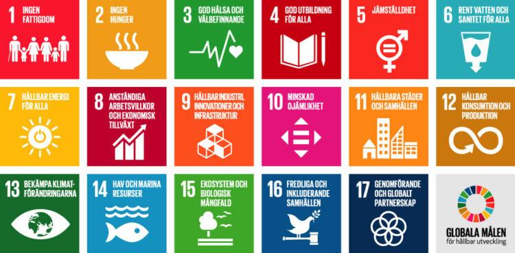 Globala målen är den mest ambitiösa agendan för hållbar utveckling som världens länder någonsin antagit och finns till för att uppnå fyra fantastiska saker till år 2030: Att avskaffa extrem fattigdom. Att minska ojämlikheter och orättvisor i världen. Att främja fred och rättvisa. Att lösa klimatkrisen. Genom Globala målen för hållbar utveckling kan det här bli verklighet.