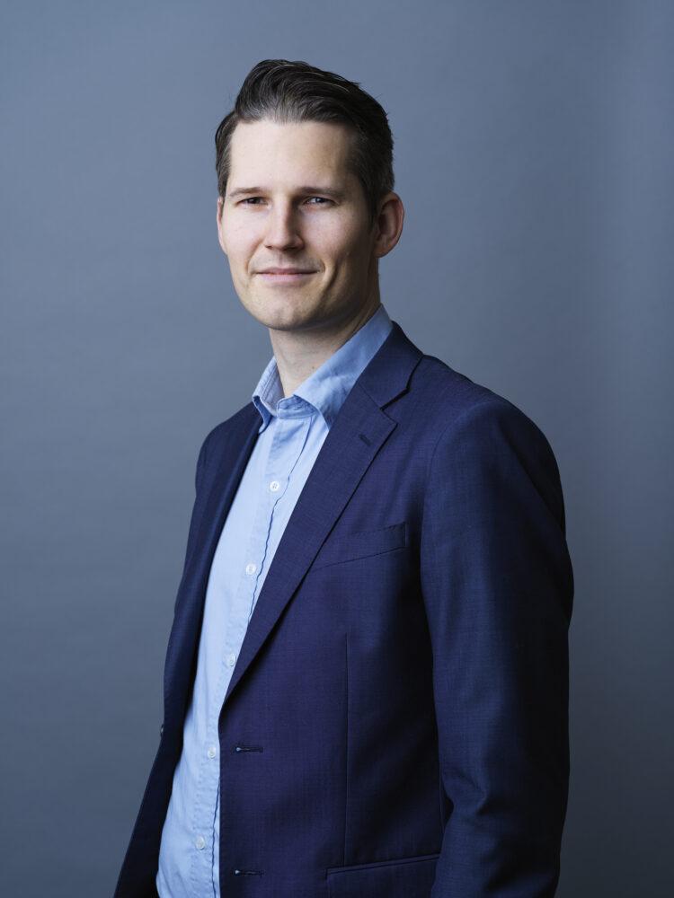 Erik Nilsson, ansvarig för tillgångsallokering